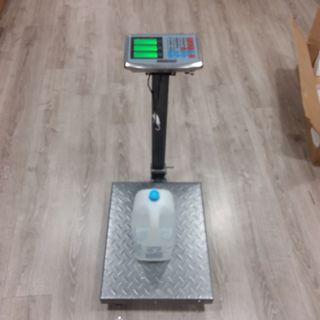 Báscula Industrial De Plataforma Acero 300kg/50g