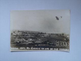 Lámina reproducción foto Oviedo 1911