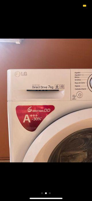 lavadora LG, uso solo 2 meses.