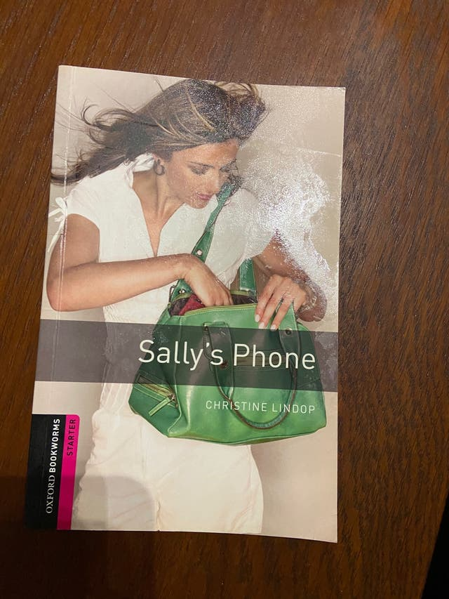 Libro lectura inglés Oxford started Sally's phone