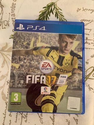 FIFA 2017 para PS4.