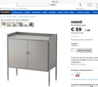 Mueble Ikea jardín de segunda mano en la provincia de