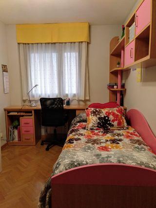 Escritorio dormitorio jovenes rosa