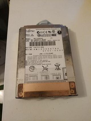 "Disco duro interno para portátil IDE 2.5"""