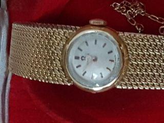 Reloj antiguo en oro de 18 k