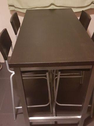 wallapop mesa y sillas cocina