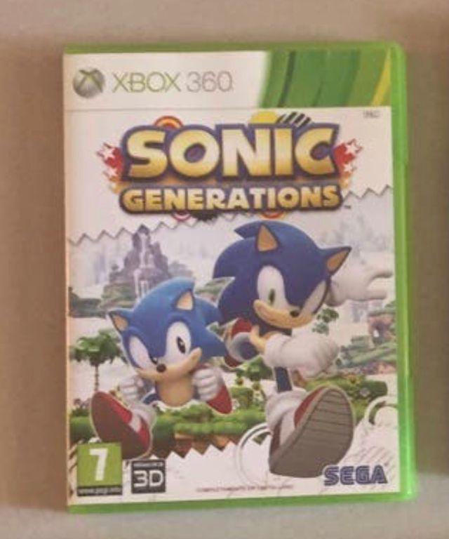 Juego Sonic Xbox360