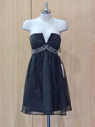 vestido corto de fiesta AIRE ROSA CLARA