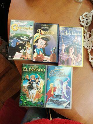 Pinocho,Eldorado,Merlín el encantador...