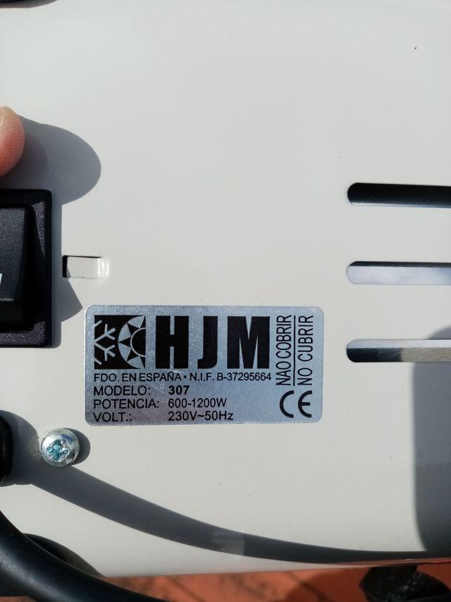 CALEFACTOR RADIADOR DE INFRARROJOS - 600/1200W