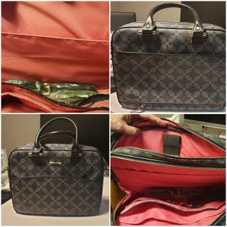 Bolso maletin portadocumentos mujer Tous original