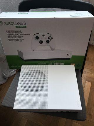 Xbox One S 1TB Como nueva (SIN MANDO)