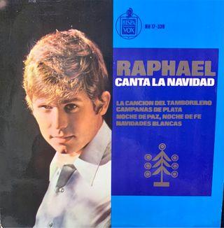 Single vinilo RAFAEL CANTA LA NAVIDAD