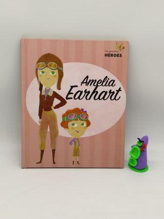 Amelia Earheart y DIAN Fossey album ilustrado