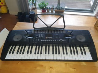 Keyboard 54 keys with microphone