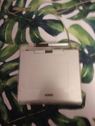 Wacom tableta gráfica con lápiz óptico