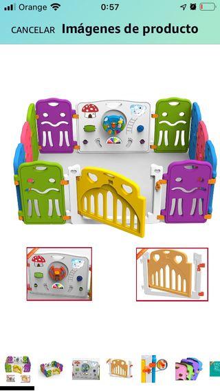 Parque infantil modulable + Regalo alfombra foam