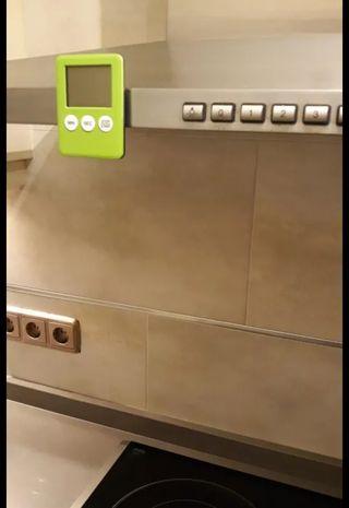 Temporizador de cocina con imán