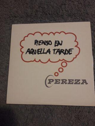 PEREZA - CD single PIENSO EN AQUELLA TARDE