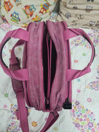 bolsa carro bebe tous rosa
