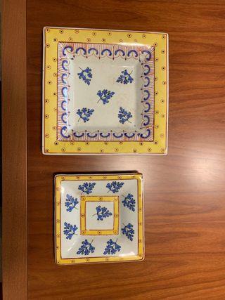 Cenicero o platitos de ceramica