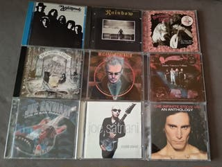 Discos en CD de música Heavy Metal, Hard Rock