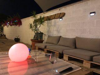 mobiliario de jardin palet