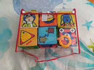 Set de cubos de tela