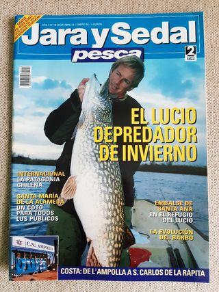 Revista Jara y Sedal Pesca N°18 Diciembre 04 Enero
