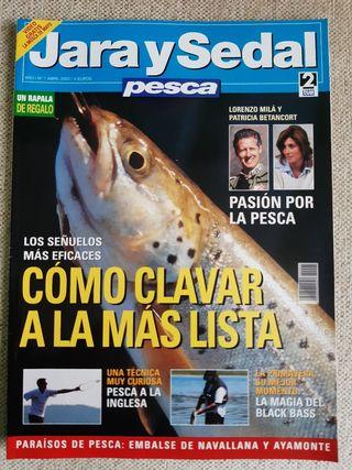 Revista Jara y Sedal Pesca N°1 Abril 2003