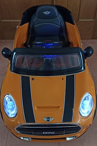 coche mini cooper 12v con control remoto