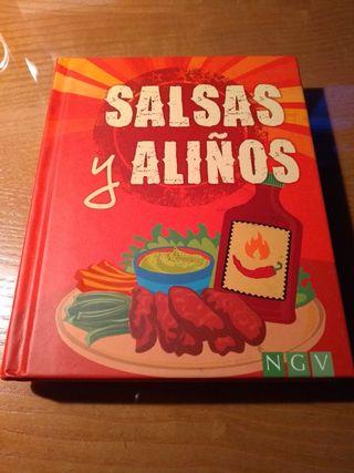 Pack de recetas de salsas y aliños
