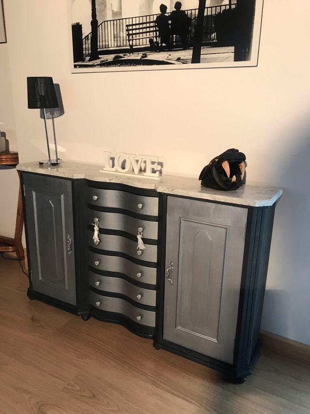 Mueble recién restaurado