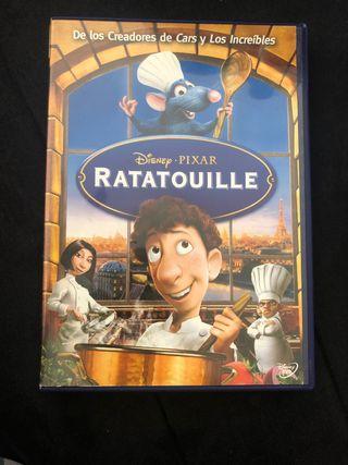 Pelicula Ratatouille.
