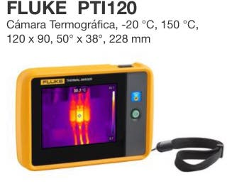 Cámara termografica Fluke pti120