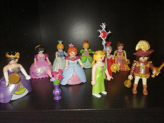 Princesas y príncipe playmobil