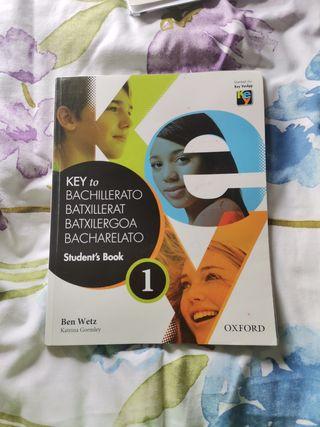 Libro Inglés Key 1 bachillerato