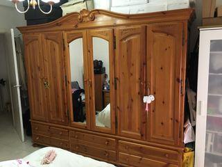 Armario Grande madera de provenzal