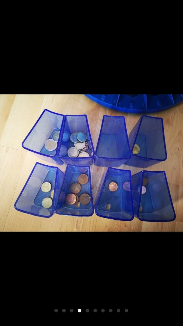Maquina contadora de monedas