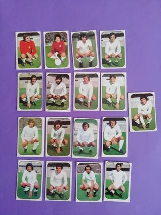 Este liga 76/77.. Real Madrid.. Lote 17 cromos..