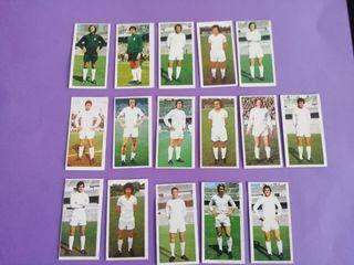 Este liga 75/76.. Real Madrid Lote 16 cromos..