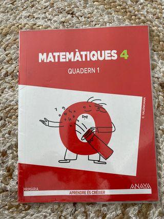Cuarto de primaria cuadernillos anaya