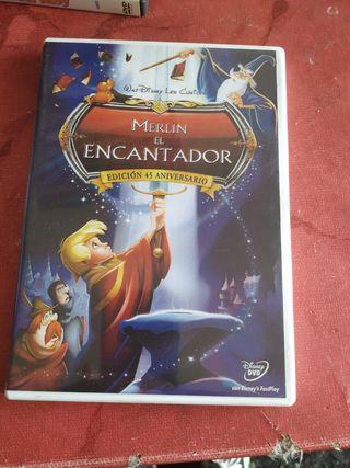 DVD MERLIN EL ENCANTADOR