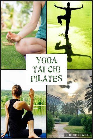 Clases de Yoga-TaiChi-Pilates