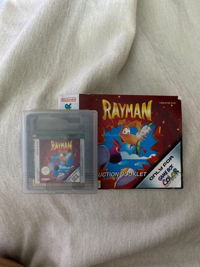 Juego Rayman game boy color.