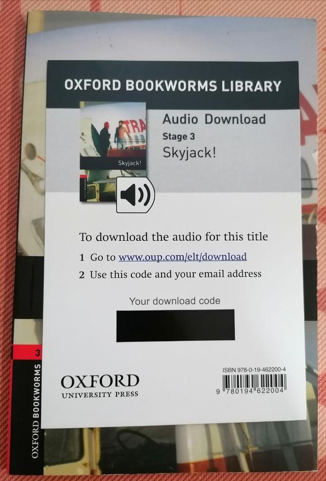 Libro en inglés Skyjack!