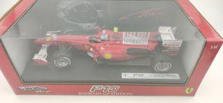 Ferrari F10 Fernando Alonso Hot Wheels 1/18