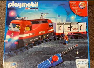 Tren playmobil 4010