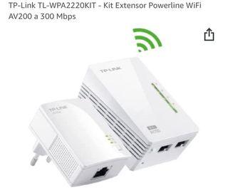 2 unidades TP-LINK WIFI AV200 TL-WPA2220KIT