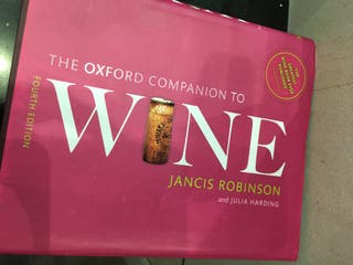 Libro Oxford Companion to Wine 4th Edition